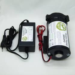 Pompe à diaphragme avec transformateur électrique