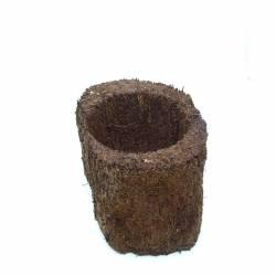 Pot xaxim 10 - 15cm de haut - Cachette reptiles /amphibiens, pot de culture pour orchidées, Broméliacées ou fougères