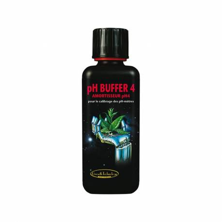 Solution pH Buffer 4.0 - 300 mL The Growth Technology