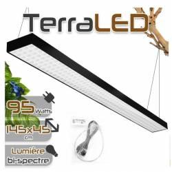 TM 95W 120cm -Eclairage LED horticole pour terrarium de 45cm x 180cm