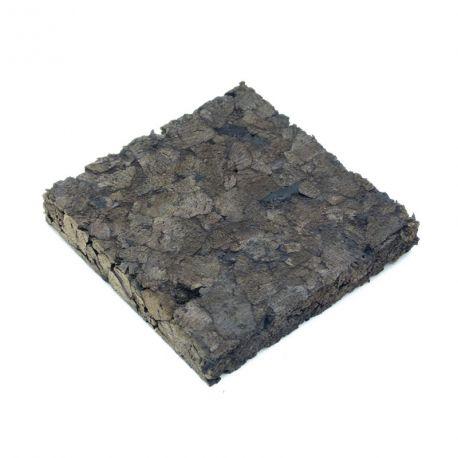 Plaque de liège aggloméré foncé - Plusieurs tailles disponibles