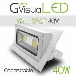 SPOT 40w Encastrable plafond - GreenVisuaLED