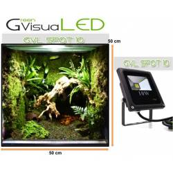 SPOT 10 W GreenVisuaLED IP65