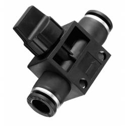 Vanne manuelle 6mm unidirectionelle - Raccord  instantané